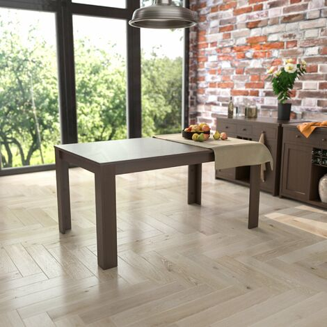 "main image of ""Medina 6 Seater Dining Table, Walnut"""