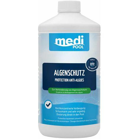 mediPOOL mediPOOL Algenschutz, Algenverhütung, Algenvernichter, Algenschutzmittel, Wasserpflege