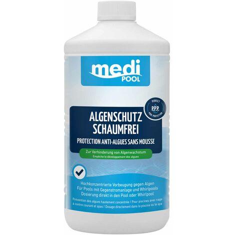 mediPOOL mediPOOL Algenschutz schaumfrei, Algenverhütung, Algenvernichter, Algenschutzmittel, Wasserpflege