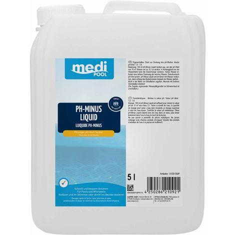 Medipool pH-Minus Liquid 5 Liter' mediPOOL - 19771