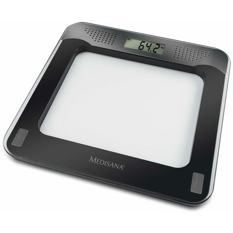 Medisana Bathroom Scale PS 416 180 kg Black and Silver