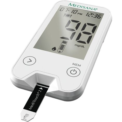 Medisana Blood Glucose Meter MediTouch 2 White mg/dL