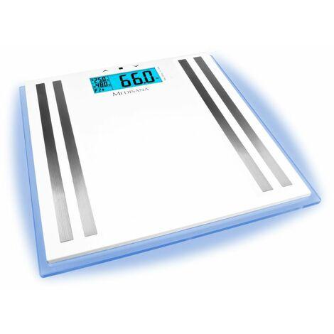 Medisana Pèse-personne analytique ISA LCD en verre