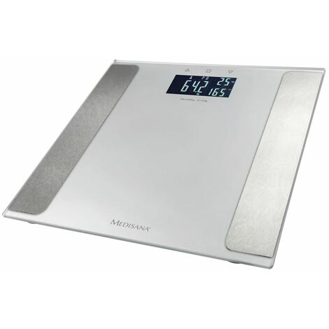 """Medisana Pèse-personne """"BS 410 Connect"""" 180 kg Argenté"""