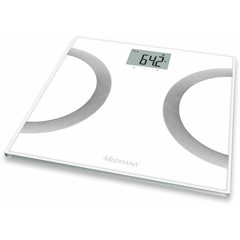 Medisana Pèse-personne impédancemètre BS 445 180 kg blanc