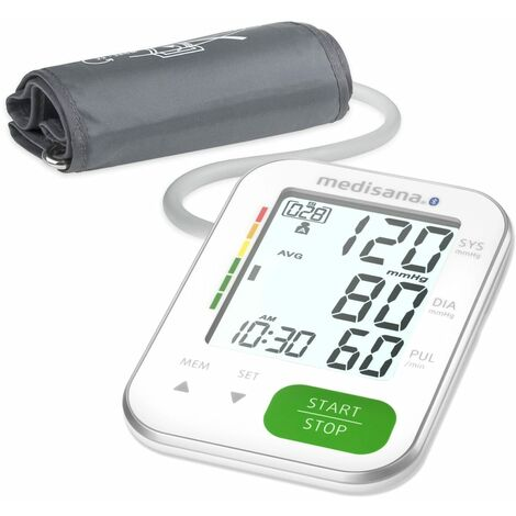 Medisana Upper Arm Blood Pressure Monitor BU 570 Connect White - White