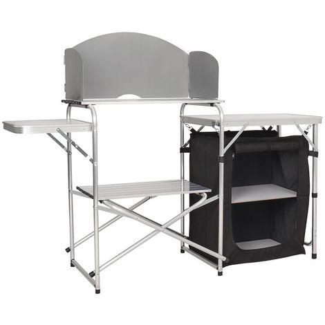 Medium Black Camping Kitchen