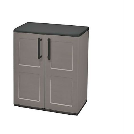 Medium Cabinet Plastic Garden Store Approx 680Lx370Wx840H
