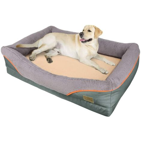 Medium Dog Bed Soft Pet Couch Sofa Cushion Warm Basket Pillow Waterproof