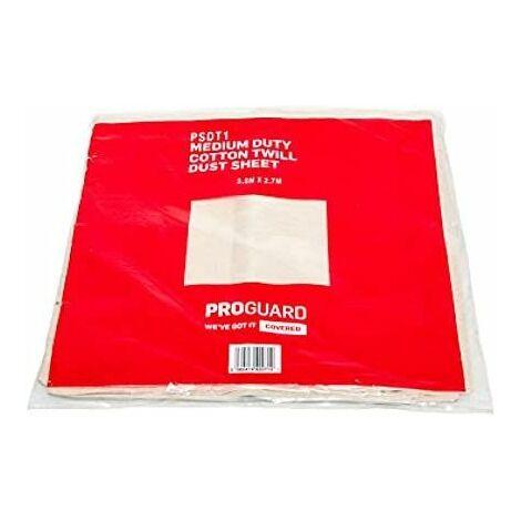 Medium Duty Cotton Twill DUST Sheet 3.6M X 2.7M