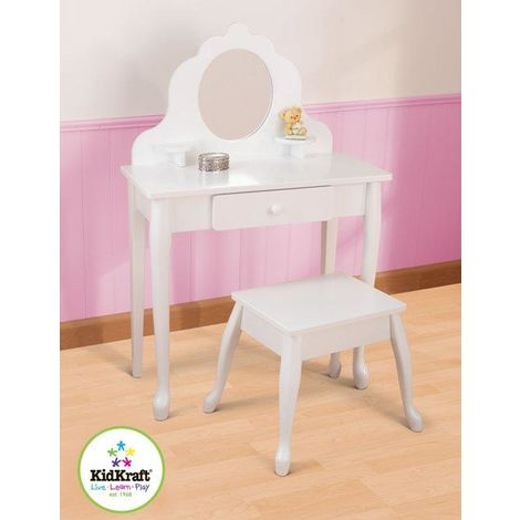 Medium Vanity and Stool by Kidkraft