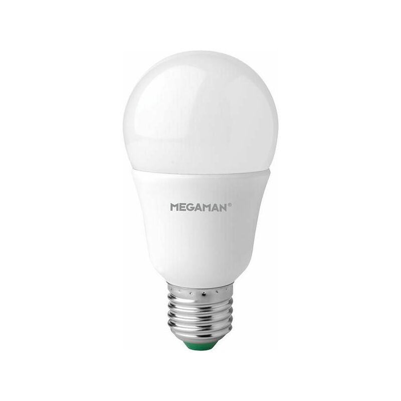 Image of 10.5W Classic Shatterproof LED ES E27 GLS Warm White Dimmable - 148609 - Megaman