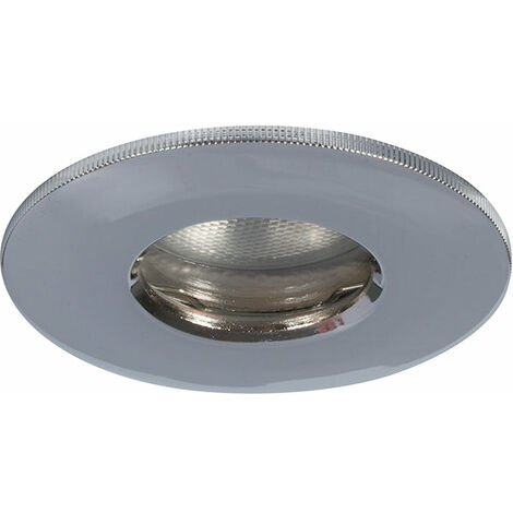 Megaman Helios GU10 Fire Rated Shower Downlight - Fixture Only - Chrome