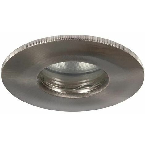 Megaman Helios GU10 Fire Rated Shower Downlight - Fixture Only (Satin Chrome)