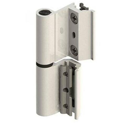 MEGANEI bisagra v2p eu aluminio blanco derecha par