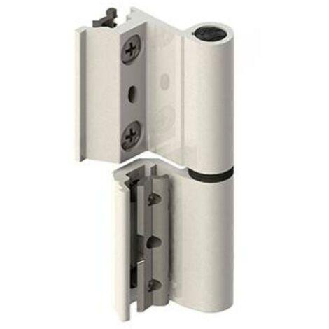 MEGANEI bisagra v2p eu aluminio blanco izquierda par
