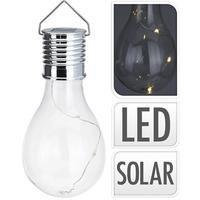 MEGANEI bombilla solar transpar. led