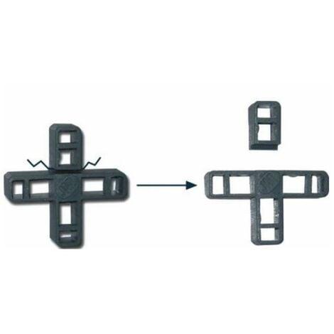 MEGANEI crucetas de plastico 10 mm. bolsa 50