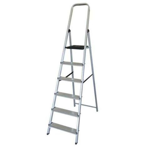 MEGANEI escalera aluminio 6p.hogar en-131