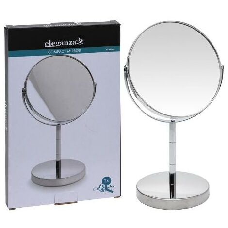 MEGANEI espejo pie 14 cm aumento x2