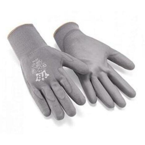 MEGANEI guante nylon poliuretano t- 9 par