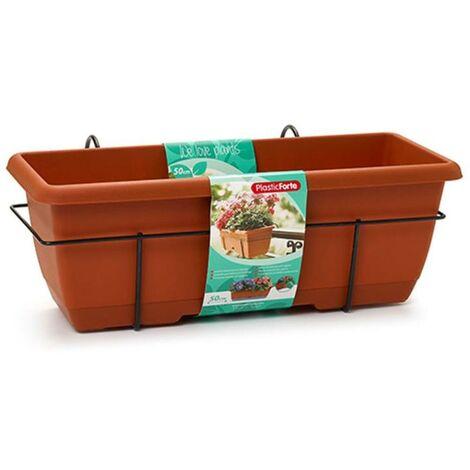 MEGANEI jardinera con soporte 50 cm 11907