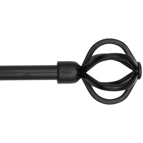 MEGANEI kit barra forja ext.120-210 mundi negra 16-19 mm