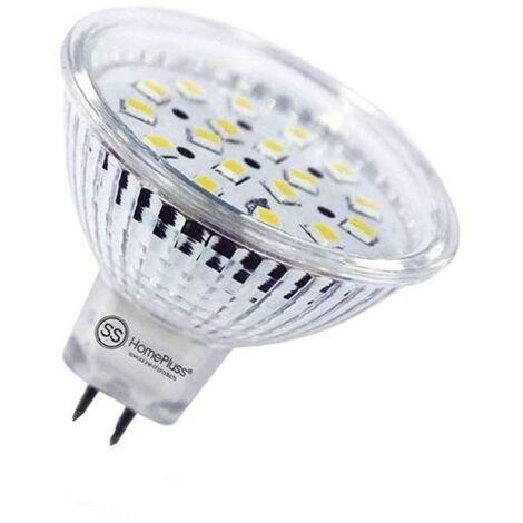 MEGANEI l/calida lampara 4led gu-10 6w dicroica