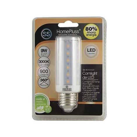 MEGANEI lampara 40led cornlight 9w e27 luz calida blister