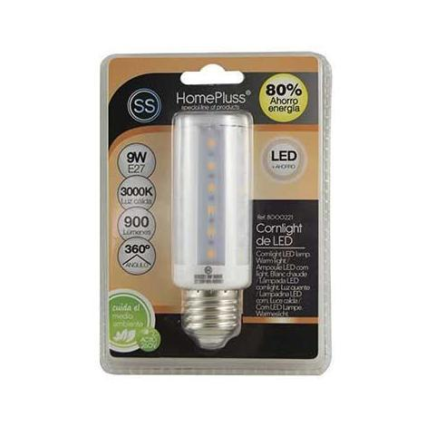 MEGANEI lampara led cornlight 9w e27 luz calida blister