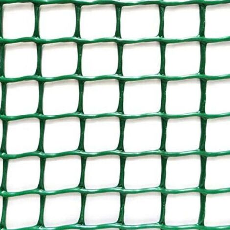 MEGANEI malla plastico eco 20x20 c-124 1m verde r/ 25m.
