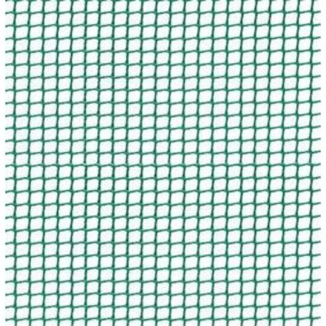 MEGANEI malla plastico eco 5x5(c-104)1m. verde r/25m.