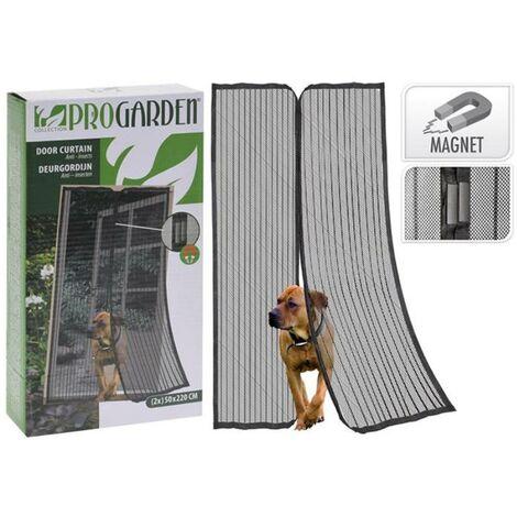 MEGANEI mosquitera puerta 2x50x220 cm