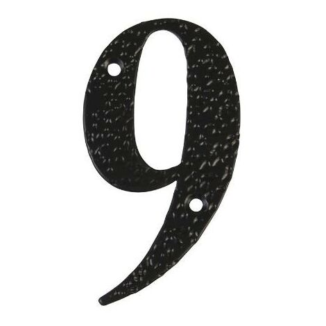 MEGANEI numero 9 -m.4 negro 10cm. display