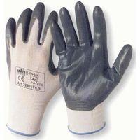 MEGANEI par guante nylon con nitrilo t10 gris