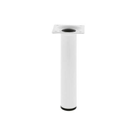 MEGANEI pata mesa 4-30x100 acero blanco