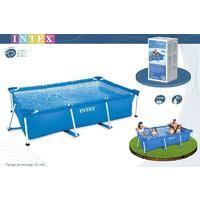 MEGANEI piscina rectangular frame 260x160x65 cm. 28271
