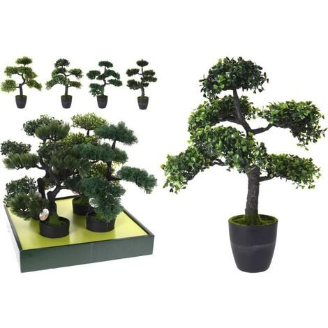 MEGANEI planta artificial bonsai 50 cm