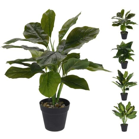 MEGANEI planta artificial filodendro 45 cm