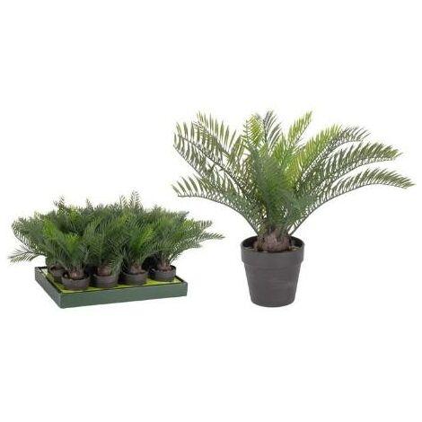 MEGANEI planta artificial palmera 30 cm
