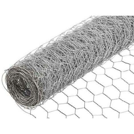 MEGANEI rollo 5 m enrejado 16x0,7 100 cm triple torsion galv