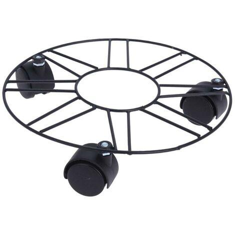 BLUNGI soporte macetas 3 ruedas 25cm