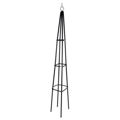 MEGANEI soporte plantas pie obelisco 190cm