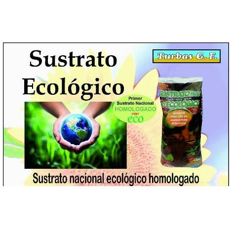 MEGANEI sustrato universal ecologico 50 l bolsa