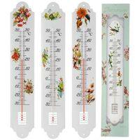MEGANEI termometro metal decorado 50 cm.