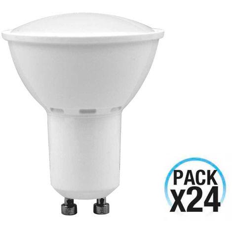 MegaPack 24 Bombillas LED Spotlight GU10 6W Equi.50W 540lm 4000K 10000H 1Primer Low Cost