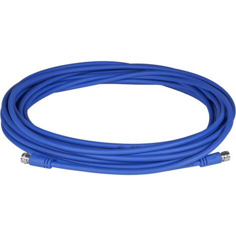 MEGASAT Cable Coaxial FLEX Longueur 20m Idéal utilisation mobile