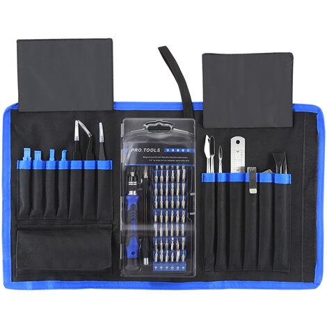 Meilleur ensemble de tournevis multifonction Kit de reparation de demontage d'ordinateur de telephone portable 80-en-1 Kit de reparation 119B