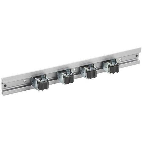 MEISTER Barre porte-outils aluminium avec 4 porte-o