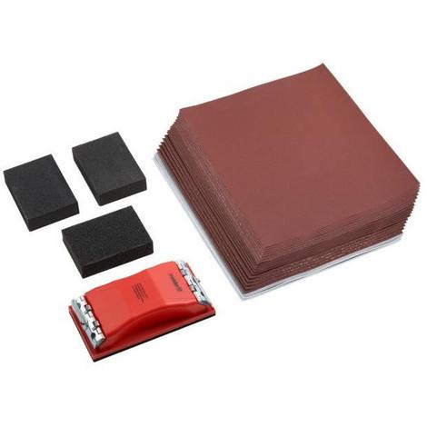 KS TOOLS 515.3095 Cale /à poncer avec blocage papier
